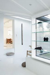 Light-Filled Family Home Renovation in Copenhagen - Photo 13 of 23 - Another view of the entrance area.