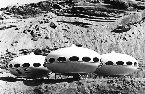 Matti Suuronen, Futuro House, 1968.  Midcentury Homes by Dwell from Historical Prefab Projects