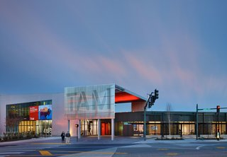 New Olson Kundig-Designed Wing Opens at Tacoma Art Museum - Photo 1 of 8 -
