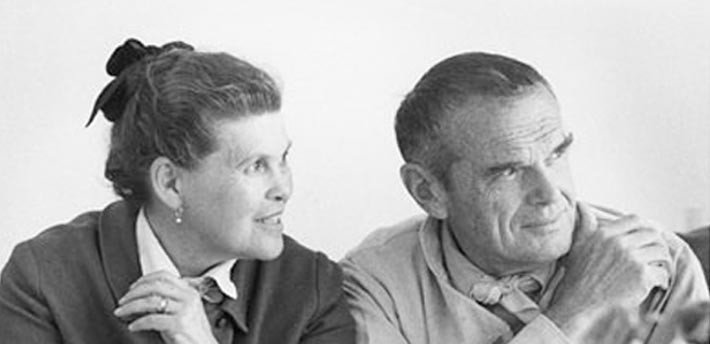 Charles and Ray Eames were true collaborators.