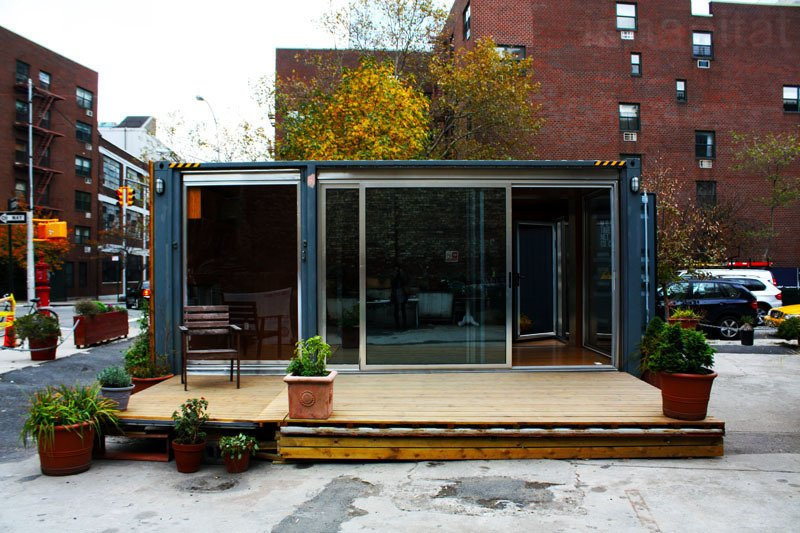 While the MEKA home only offers a single profile, the option to add a deck provides additional space and more flexibility.  Shipping Containers by Dwell from Inexpensive, Easy-Assembly Shipping Container Home