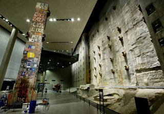 At Ground Zero Bedrock, the 9/11 Museum Prepares for Visitors - Photo 1 of 14 -