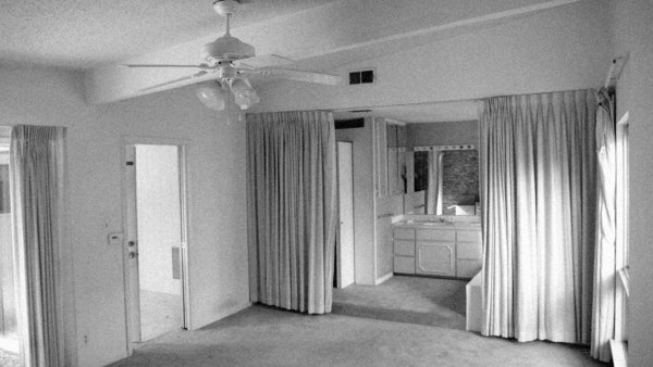 The Blacks' only edit to the floor plan is in the master bedroom wing, where they reconfigured an awkward, curtained-off master bathroom and moved the sleeping quarters to the rear of the house.