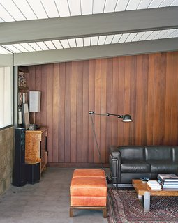 These 5 Transformations Show Why Challenging Renovations Are Worth It - Photo 1 of 5 - Los Angeles architect Bruce Norelius renovated an A. Quincy Jones house in Brentwood with his partner. They treated the architect's original intent with reverence but added key elements to make it modern and livable.