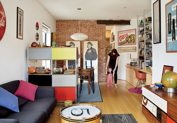 Photo 5 of 12 in bright renovation of a tiny manhattan - Deco industrielle pas cher ...