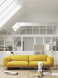 25 Bold Ways to Decorate with Yellow - Photo 12 of 25 - Rest sofa by Anderssen & Voll for Muuto (2011)
