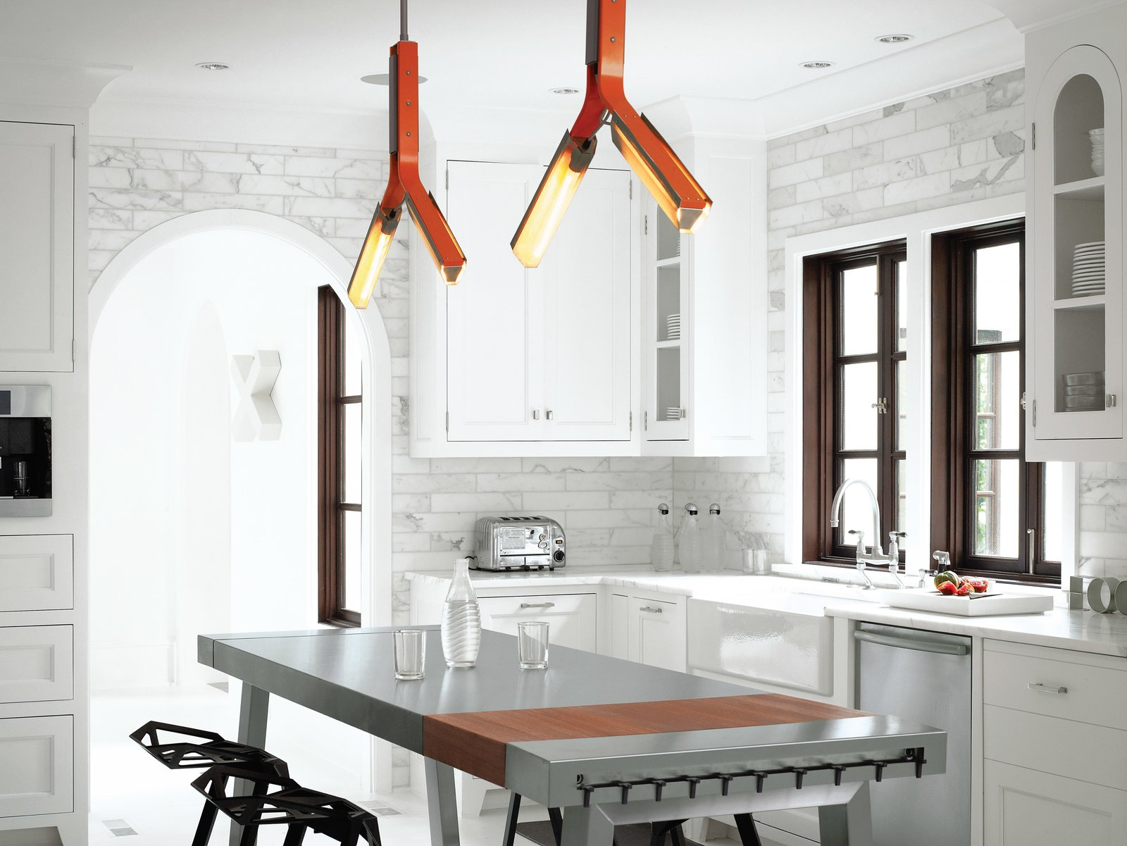 Overhead Kitchen Lighting A Designer Brings Her Bold Brand Of Texas Modern To This Atlanta