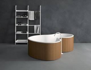 Brazilian-Influenced Organic Modern Bathtub for Italian Company Agape - Photo 1 of 1 -