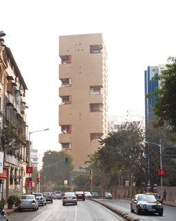 Mumbai, India - Photo 8 of 12 - The Kanchanjunga  Apartments, designed by Charles Correa in 1974, is Mumbai's most visible modernist residential building.