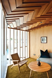 House of the Week: Striking Wooden Ceiling in New Zealand - Photo 2 of 3 - A modern home in New Zealand.