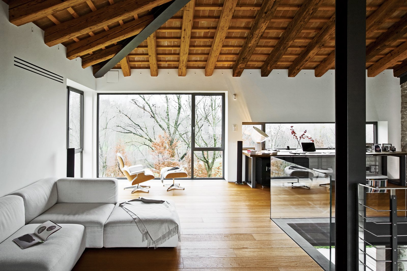 Photo 2 of 13 in a renovated farmhouse in northern italy for Dwell houses