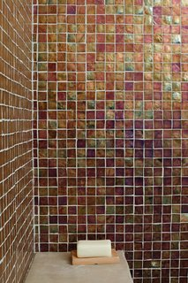 Coast docs dwell - Recycled glass tiles bathroom ...