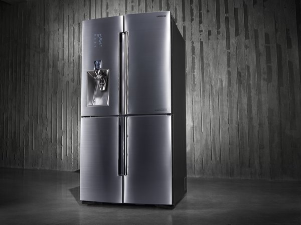 The refrigerator. Photo courtesy of Samsung.