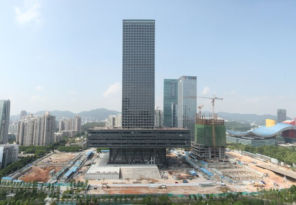 The Shenzhen Stock Exchange, designed by OMA. Photo courtesy of OMA.