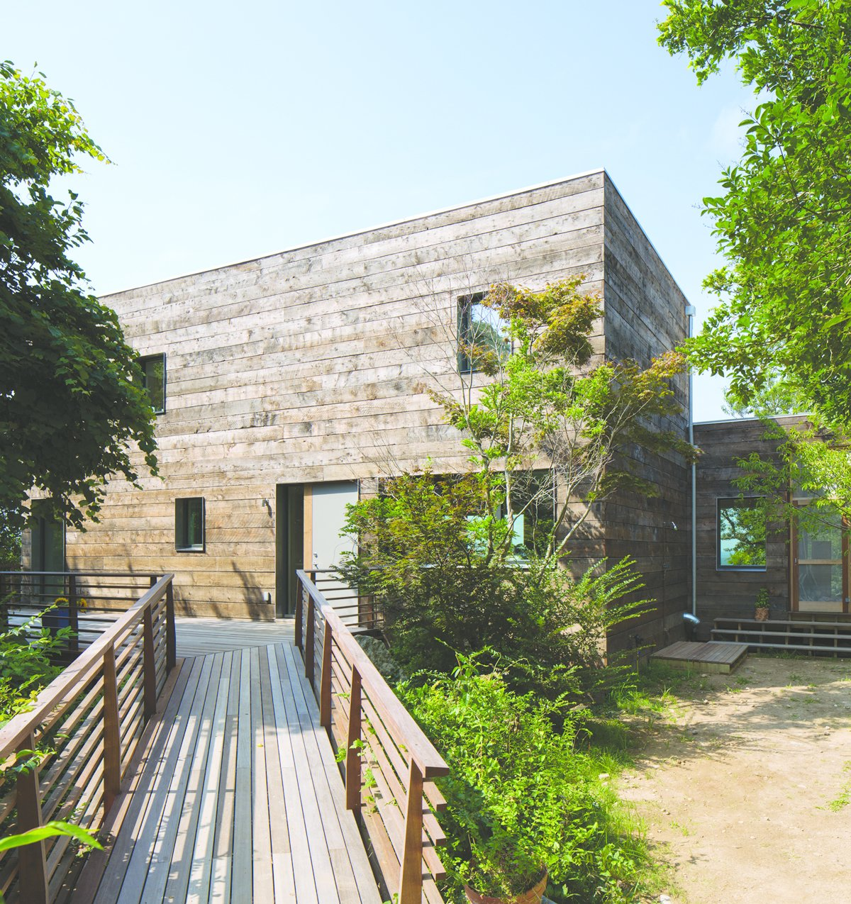 Orient House (2012) on Long Island was an existing structure retrofitted by Ryall Porter Sheridan Architects to conform to Passive House green standards.  15+ Passive Modern Home Ideas by Heather Corcoran from Top 10 Houses on Dwell This Week  January 23, 2014