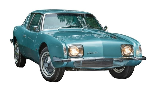 The Studebaker Avanti, designed by the French-born industrial designer Raymond Loewy. Private collection of Richard Vaux. Photo by Walter Silver/PEM.
