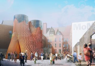 Carbon-Neutral Brick Tower Coming to MoMA's PS1 This Summer - Photo 1 of 5 -