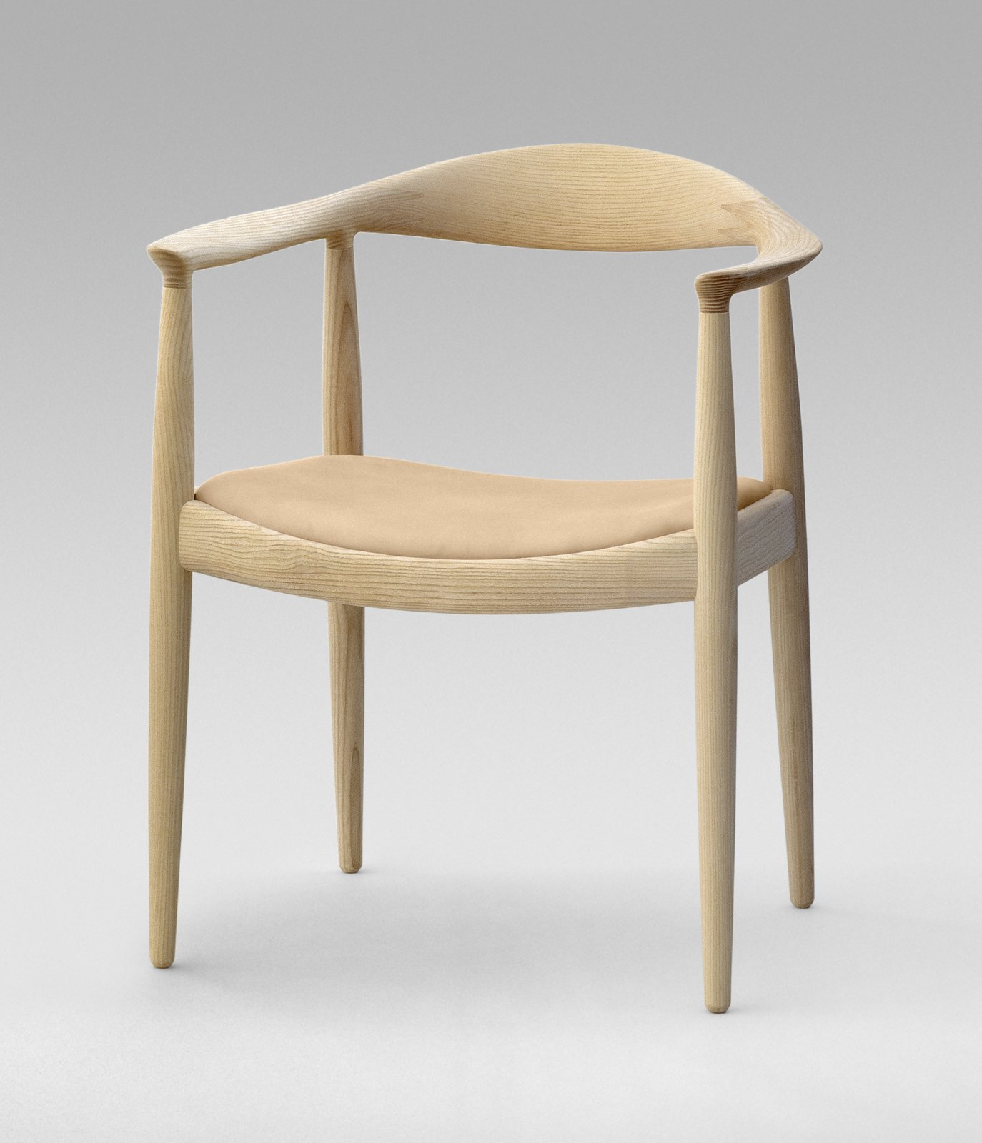 Photo 2 of 9 in 8 iconic chairs by hans wegner dwell - Danish furniture designers ...