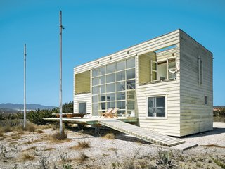 A Simple Geometric Bayfront Home in Chile - Photo 2 of 2 -