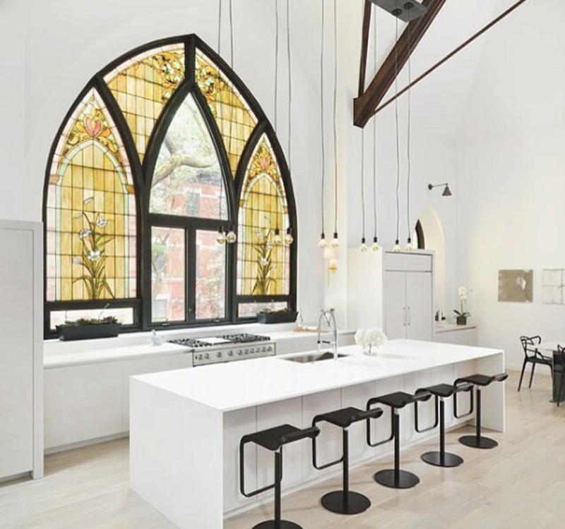 Photo of the Week: Family Home in an Old Converted Church - Photo 1 of 1 -