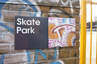 Projectile Motion: Hat-Trick Design's Stockwell Project Bring Local Art to Wayfinding - Photo 4 of 7 -