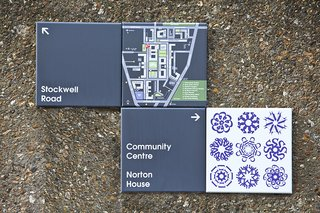 Projectile Motion: Hat-Trick Design's Stockwell Project Bring Local Art to Wayfinding - Photo 7 of 7 -