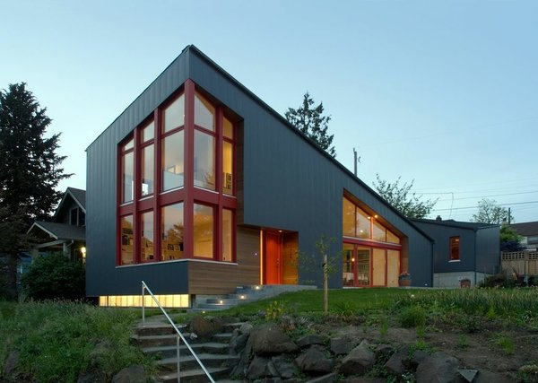 Angular multi generational home in washington dwell for Multi generational home builders