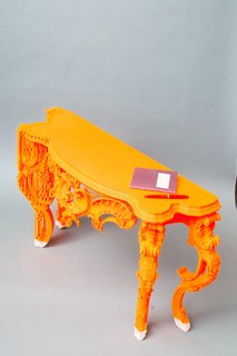 Want the Perfect Chair? Print It - Photo 1 of 6 - Sideboard designed and fabricated with BigRep Printer.