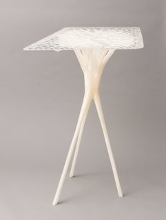 Want the Perfect Chair? Print It - Photo 4 of 6 - Another table designed by Lukas Oehmigen with the BigRep Printer, which was shown as part of the Designing with Nature show at the Architecture Foundation London.