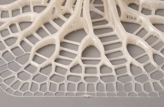 Advanced computer programs and 3-D printing allow for complex pattern replication in the finished product.