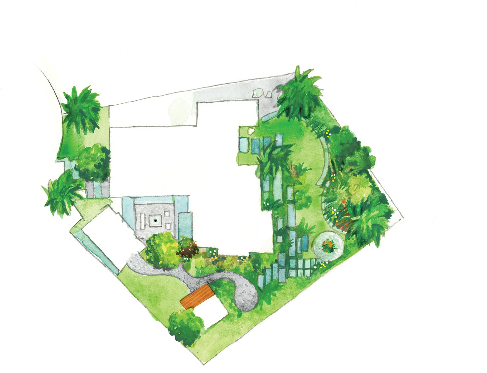 Photo 6 Of 9 In Creative Landscape Design For A Renovated