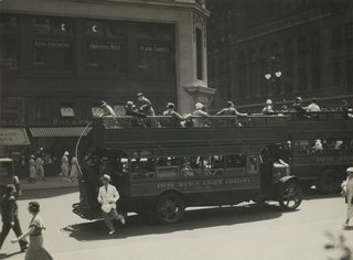 Berenice Abbott. Fifth Avenue Coach Company, New York, 1932 Gelatin silver print; printed c.1932.