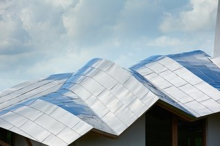 Maggie's Centres: A Blueprint for Cancer Care - Photo 4 of 14 - Dundee Exterior. Roof Architect: Frank Gehry. © Maggie's Centres