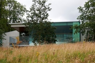 Maggie's Centres: A Blueprint for Cancer Care - Photo 11 of 14 - Maggie's Gartnavel exterior. Architect: Rem Koolhaas, OMA. © Nick Turner.