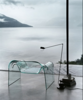 Designed by Cini Boeri for Fiam, the half-inch-thick thick curved glass Ghost chair is well-suited for those who want their seating to disappear into the background.