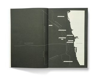 "A map of the firms profiled in Studio Issue <a href=""/search/4"">#4</a>. The magazine was started by Zoe Ikin, who spent time in Chicago during production of this issue, and her collaborators Clem Devine and Sam Trustrum, her fiance."