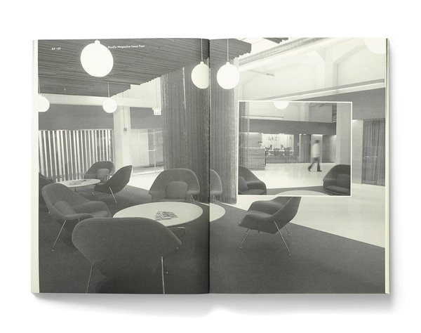 """Studio Magazine Issue <a href=""""/discover/4"""" target=""""_blank"""">#4</a>,  interior of VSA Partners, where editor and co-founder Zoe Ikin spent three months as a design researcher last summer."""