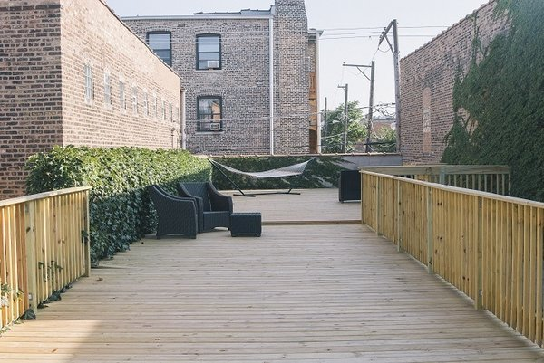 The exterior of Pitchfork Media's offices. The respected music publication moved its editorial office to Brooklyn, but still has businesses offices in Chicago.