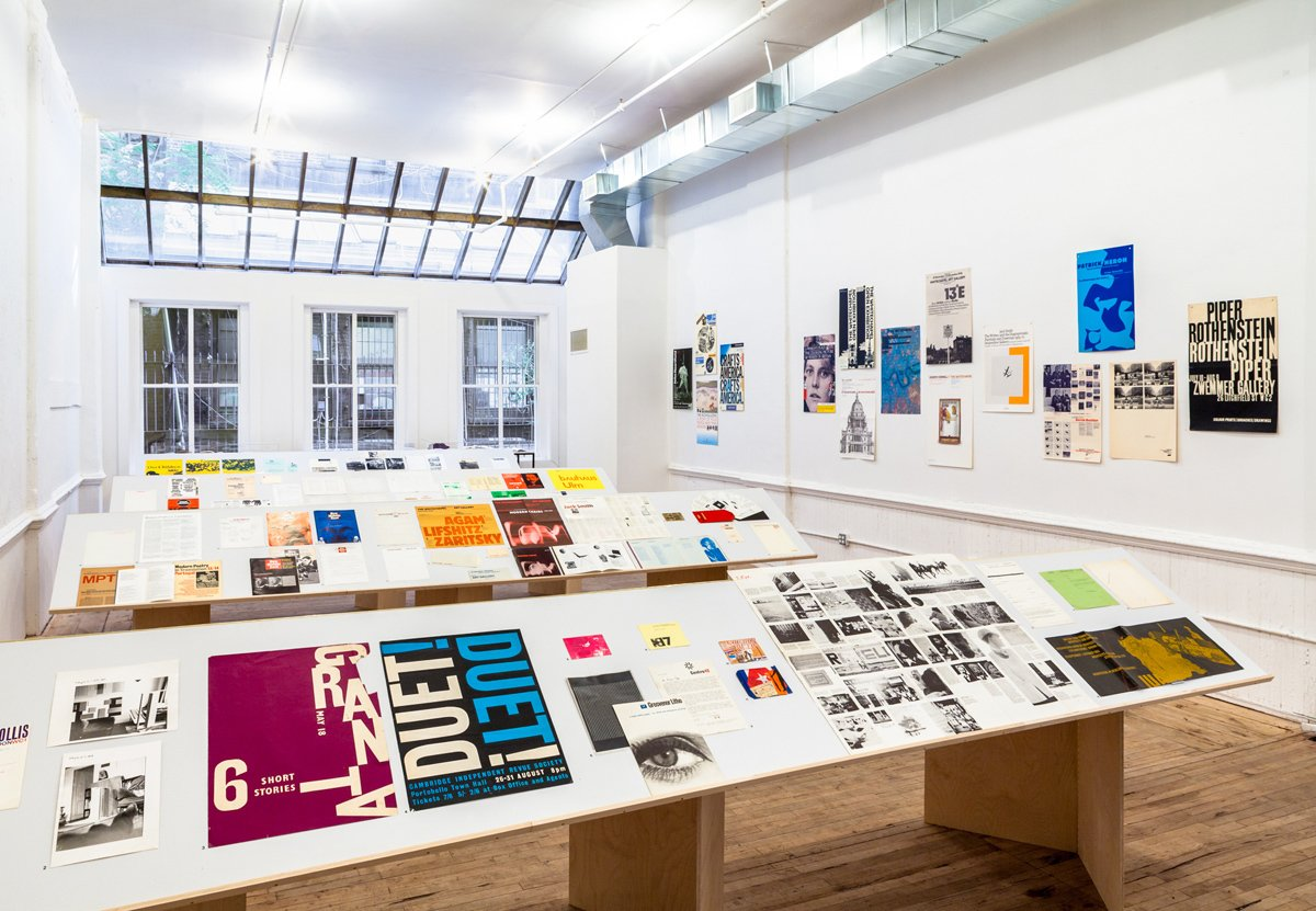 Graphic Designer Richard Hollis at NYC Artists Space