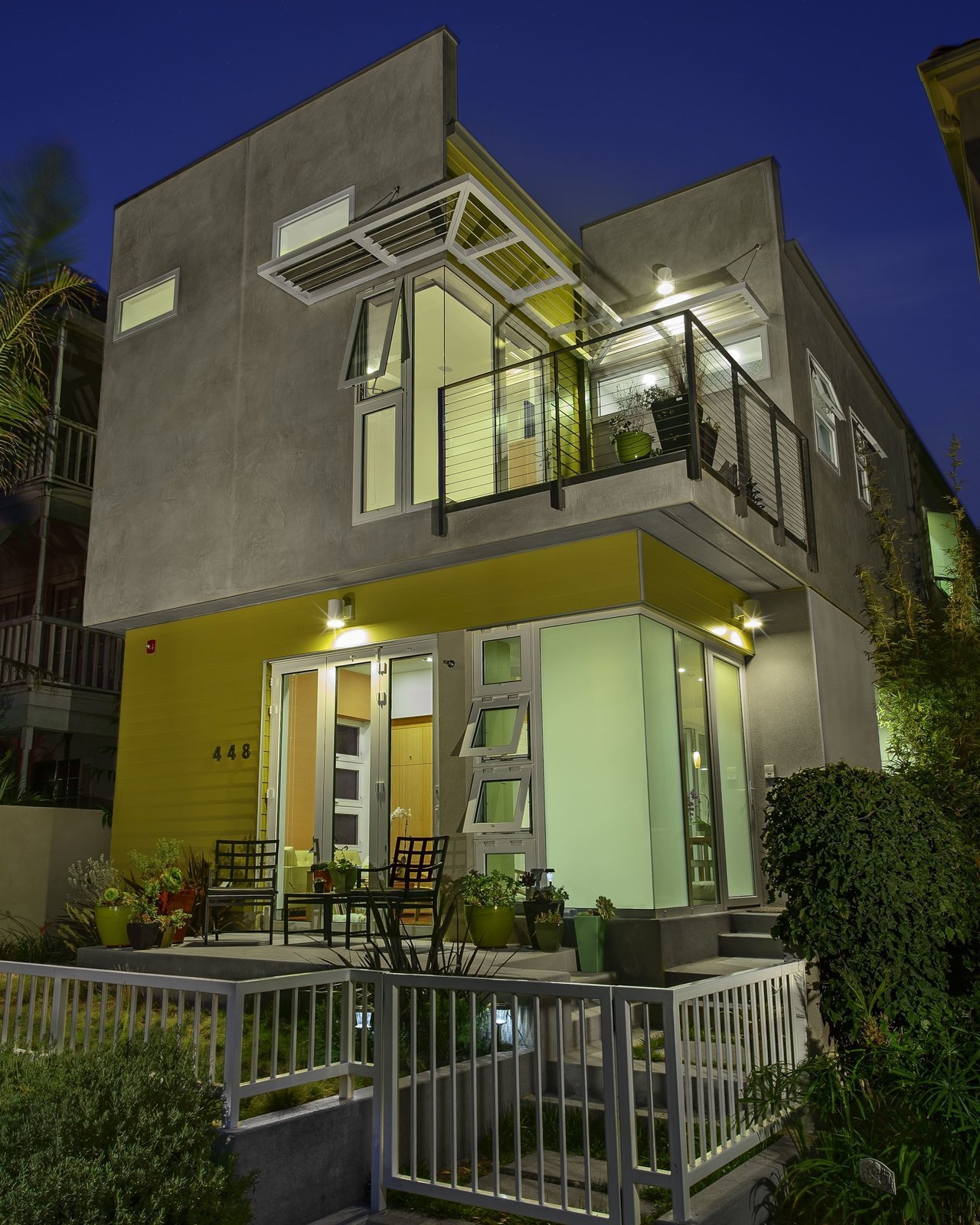 A view of the house from the front. Photo by Ken Pagliaro Photography.