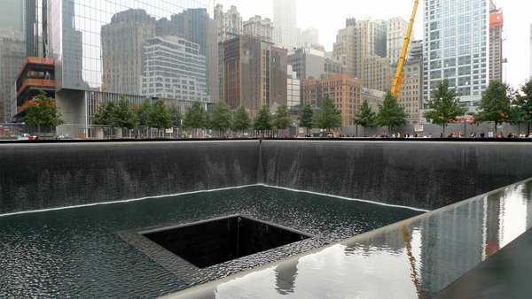 "2. World Trade Center Memorial (New York, U.S.A.): Designed by Michael Arad<br><br>Israeli-American architect Michael Arad's design for the eight-acre site in Lower Manhattan includes twin reflecting pools, which rest on the sites of the Twin Towers, and an array of illuminated and heated bronze panels bearing the names of the victims, all arranged according to a system of ""meaningful adjacency"" to map relationship and bring together family and survivors. Arad spoke to Dwell about the memorial last year. Photo by Mark Hogan."