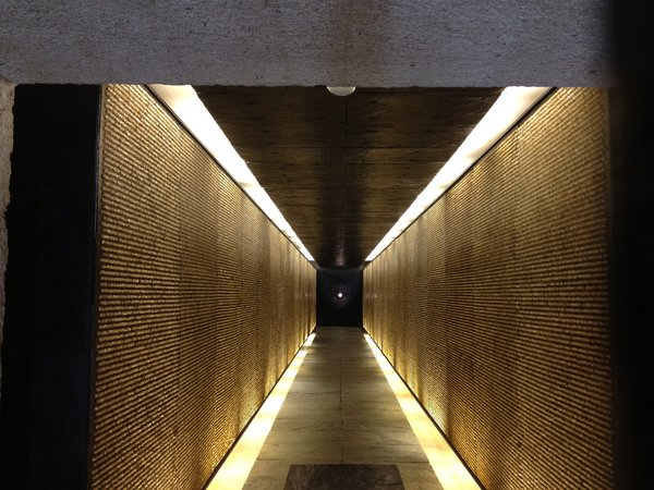 6. Mémorial des Martyrs de la Déportation (Paris, France): Designed by Georges-Henri Pingusson<br><br>This claustrophobic concrete structure is lit by 200,000 glass crystals, symbolizing each Jewish deportee from Vichy France who was later killed at a concentration camp. Photo by Ted Drake.