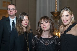 National Academy Honors Diller Scofidio + Renfro with the Lifetime Achievement Award - Photo 2 of 3 - The Dwell Media team showed their support at the National Academy's Spring Gala. The National Gallery is housed in the immaculate Huntington Mansion on Fifth Avenue which was renovated by architect and interior designer Ogden Codman Jr. in 1913. In attendace were Senior Editor Will Lamb, Special Projects Editor Kelsey Keith, Editor-in-Chief Amanda Dameron, and Director of Communications Alexandra Polier.