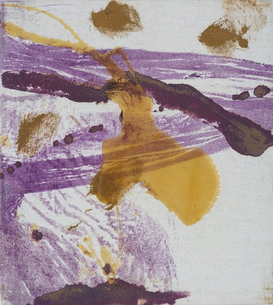 Julian Schnabel, Untitled, 1995, oil and polymer resin on canvas Bowdoin College Museum of Art, Brunswick, Maine, Dorothy and Herbert Vogel Collection Vogel Collection. Photography by Dennis Griggs.