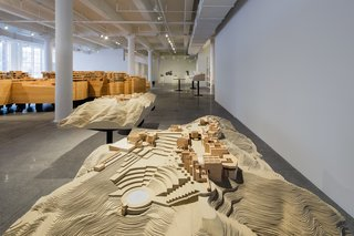 Richard Meier Model Museum Opens in New Jersey - Photo 6 of 7 - Another Getty Center model. Photo courtesy of Steven Sze, Richard Meier & Partners.