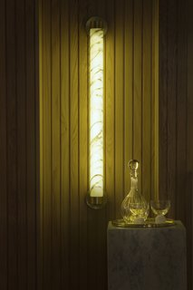 Lee Broom's Logic-Defying Marble Tube Light - Photo 3 of 8 -