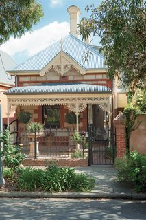 A Spotlight on 10 Traditional Homes with Modern Interiors - Photo 5 of 20 - Brammy and Kyprianou hardly touched the front of their house, an 1880 sandstone and brick Victorian with galvanized iron ornamentation.