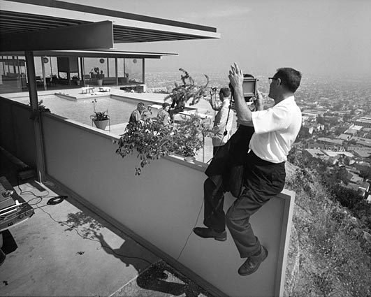 """When Dwell visited Shulman two years before his death, he was satisfied with the career he had built, and still actively giving lectures, photographing houses, and talking to journalists. """"I'm always identified as being the best architectural photographer in the world,"""" Shulman declared. """"I disclaim that. I say, 'One of the best."""""""