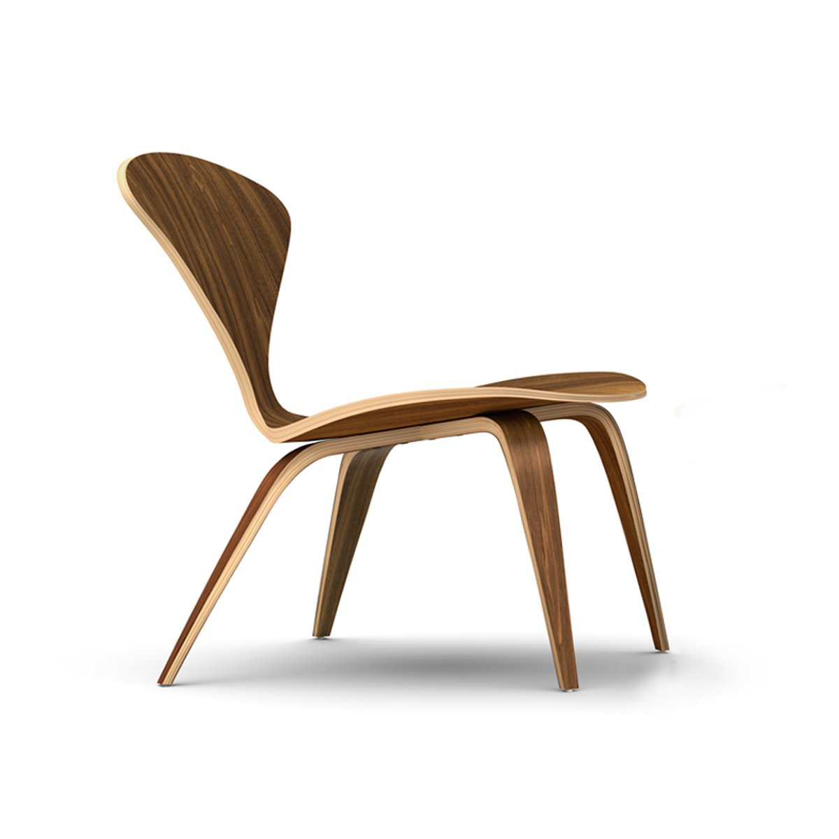 A similar design to the Lounge Arm Chair, the Lounge Side Chair has a welcoming shape that evokes Norman Cherner's 1958 design.  100+ Best Modern Seating Designs by Dwell from Reviving Classics with The Cherner Chair Company