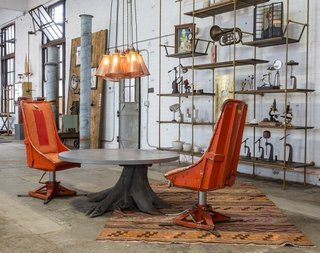 Philadelphia Design Hub: American Street Showroom - Photo 3 of 11 - One of our favorite vignettes on display at American Street Showroom.